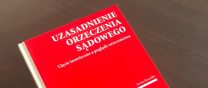 Książka autorstwa mecenas Iwony Rzucidło – naszego Eksperta już w sprzedaży!